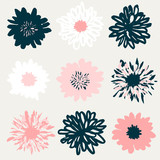 Floral Elements Collection - 136891175