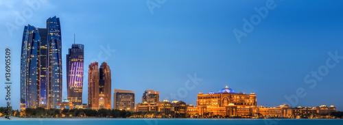 Foto op Canvas Abu Dhabi Abu Dhabi Skyline