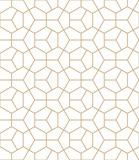 Fototapety Abstract geometry gold deco art hexagon pattern