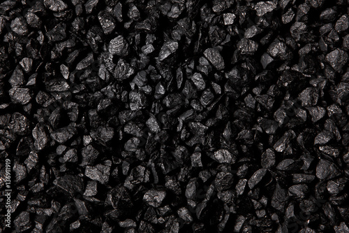Coal background - 136911919