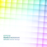 Abstract vector colorful square background.