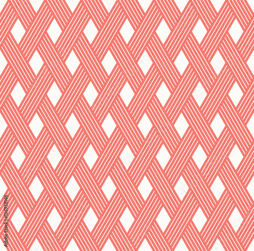 seamless weaved vector pattern.