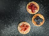 Pancakes With Fresh Fruit Dessert