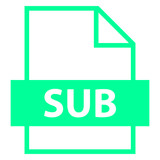 File Name Extension SUB Type