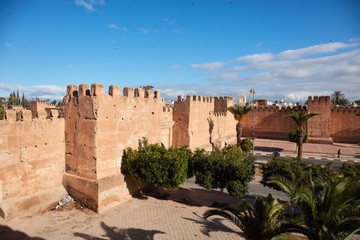 Ancient walls in Taroudant, Morocco
