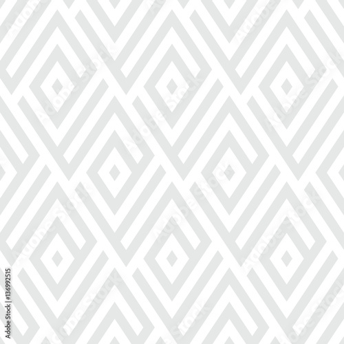 Pattern with stripe, chevron, geometric shapes - 136992515
