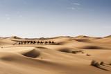 Caravana de camellos, Marruecos