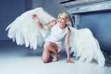 beautiful woman angel