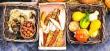 Autumn harves. Market still life from vegetables