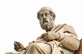 Statue of Plato in Athens. - 137041331