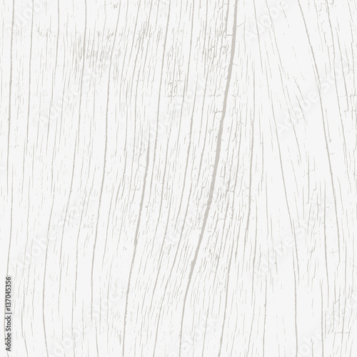 White wood texture background - Vector