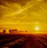 Golden Autumn Sunrise Parh