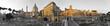 Panorama Kaiserforum Rom sw Col 180 Grad
