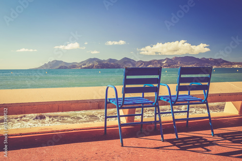 Paysage de la Côte d Azur: Festival international du film - Cannes - la Croisett Poster