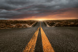 Droga nad wzgórzami