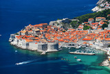 Aerial view of Dubrovnik, Croatia - 137091511