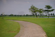 Golf course design created from harming natural resources, as well as many talented golfers.