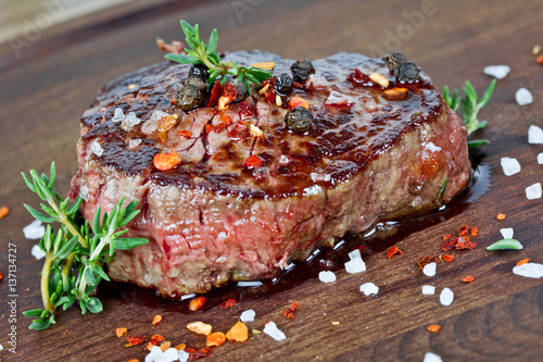 Plexiglas Steakhouse Steak