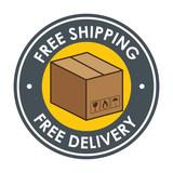fast delivery service icon vector illustration design