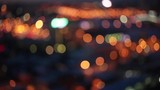 Bokeh of the city, bird's eye/Background for Titles