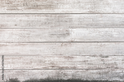 White wood panel