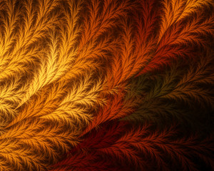 Abstract fractal background. Beautiful branch