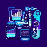 E-commerce Vector Illustration