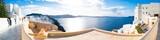 Oia panorama. Santorini Greece - 137197526