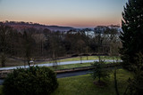 Hügelpark blick Baldeneysee
