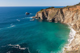 Scenic California Coast Landscape near Big Sur