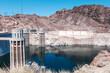 Hoover dam and Colorado river, Nevada, USA