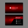 Detaily fotografie Business Card Template.
