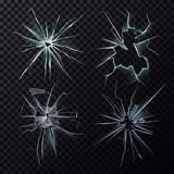 Smashed or broke window, screen or glass cracks - 137257322