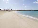 沖縄の砂浜