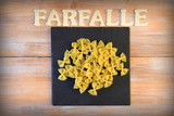 farfalle pasta food art