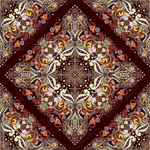 Muster mit indischen Motiv - 137316786