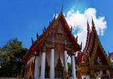 Temple in bangkok, Thailand, Asia