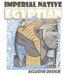 estampado egipto