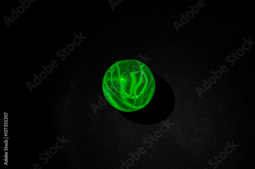Poster Green marble