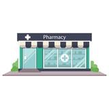 Pharmacy drugstore vector