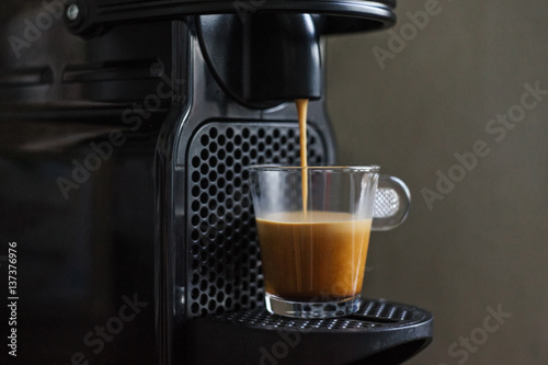 Poster Espresso coffee machine
