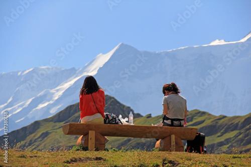 alpen schweiz berner oberland Poster