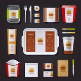 Fastfood Corporate Identity