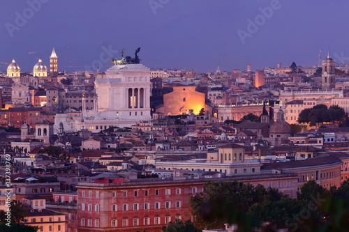 Foto op Plexiglas Kiev Rome night view