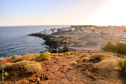 Foto op Canvas Canarische Eilanden Ocean Coast's View