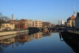 Berlin-Mitte, Blick von der Weidendammer Brücke nach Osten