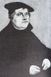 Постер, плакат: Portrait of the Protestant philosopher Martin Luther