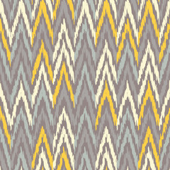 Ethnic boho seamless pattern. Ikat. Print. Repeating background. Cloth design, wallpaper.