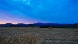 Enjoying sunset outdoor