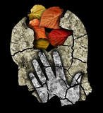 Dementia depression Alzheimers disease.